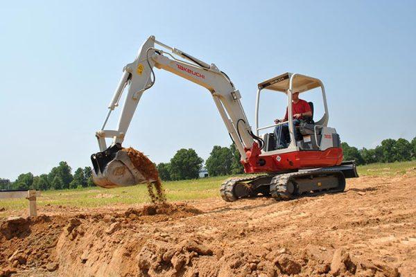 excavadora compacta 4300kg