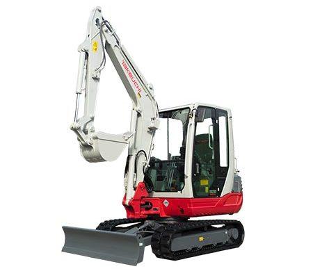 takeuchi excavadora compacta 3100kg